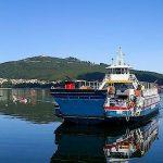 Ferry entre A Guarda y Caminha.