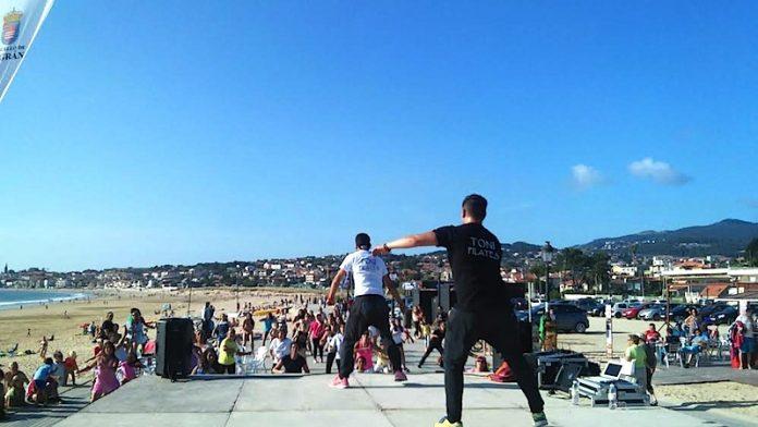 Playa América acogerá hoy una master class solidaria de zumba