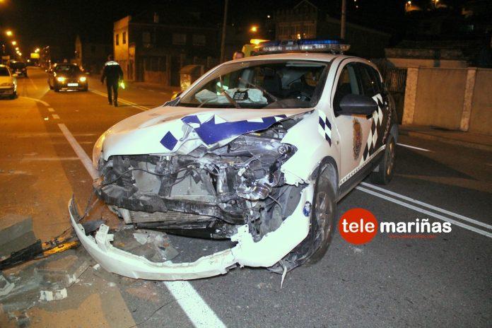 Accidente Policía Local de Nigrán