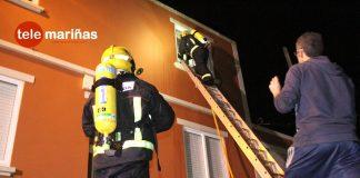 incendio en una casa de A Guarda