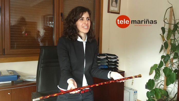 alcaldesa de Oia