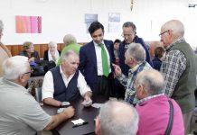 Visita del Conselleiro a Panxón