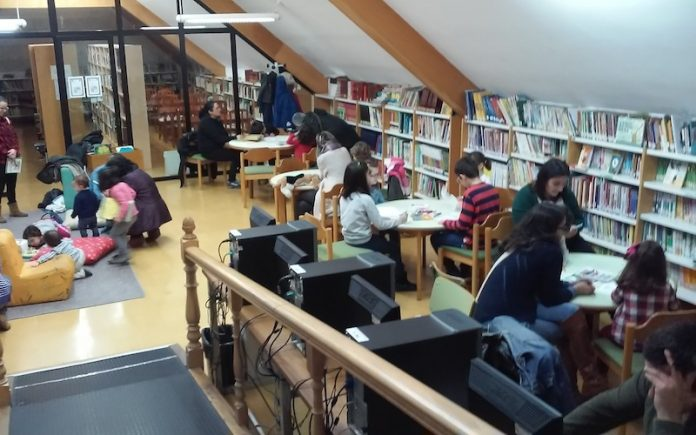 Contos Contados en la Biblioteca Municipal de A Guarda