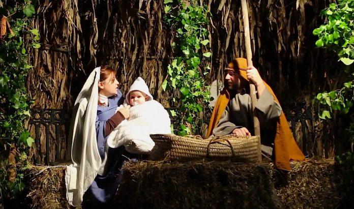 Recreación del Nacimiento Viviente de Gondomar