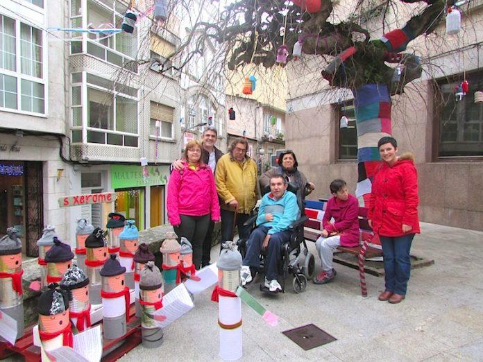 Plazas decoradas por Navidad