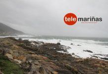 Temporal en la costa de As Mariñas