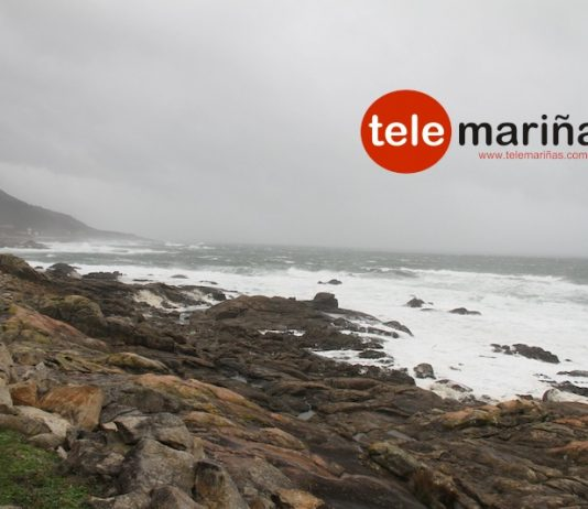 Temporal en la costa de As Mariñas