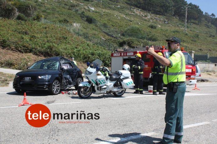 accidente moto mariñas