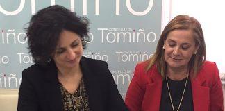 Carmela Silva en Tomiño