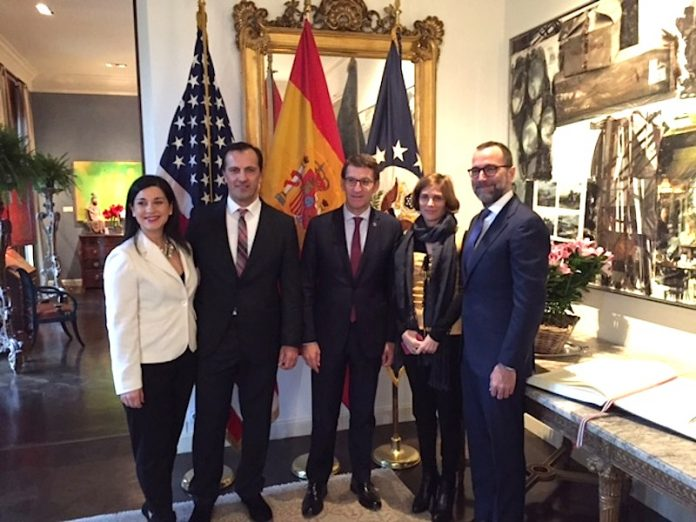 Baiona embajada Americana