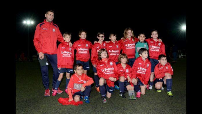 Equipo Benjamín del Erizana CF.