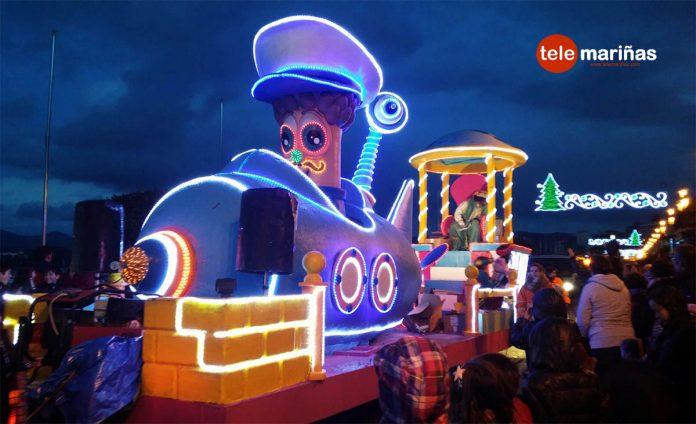 Cabalgata de Reyes en Baiona