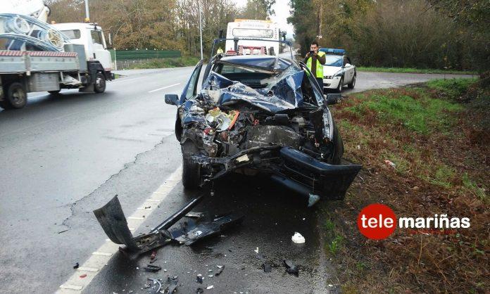 Accidente de tráfico en Tomiño
