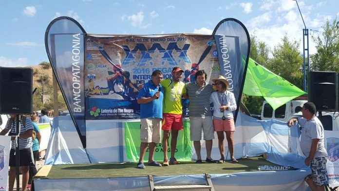 Ivan Alonso logra la victoria en la primera etapa de la Regata del Río Negro
