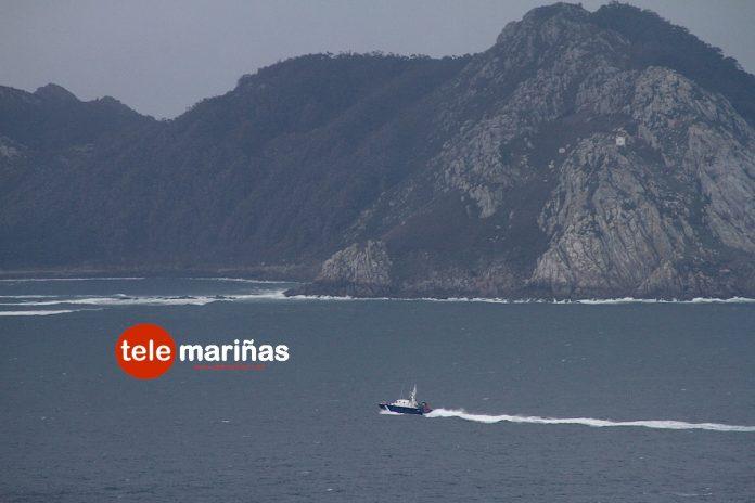 Naufragio al sur de las Islas Cíes