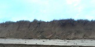 erosión Playa América