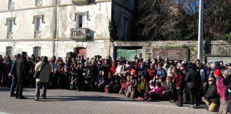 195 peregrinos portugueses en A Guarda