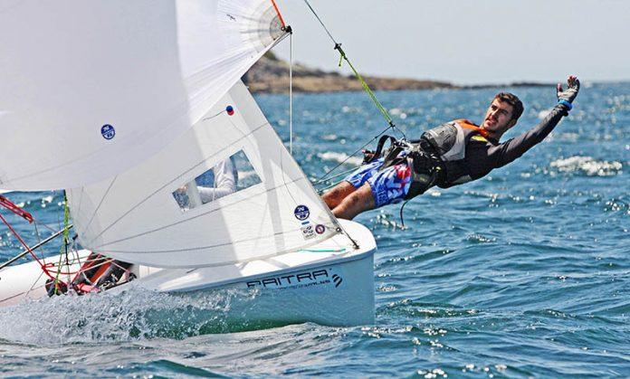 Competición náutica Baiona