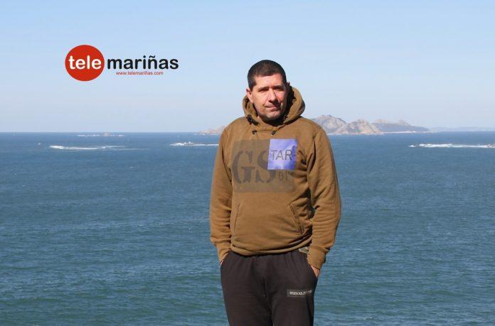 Andrés Rodríguez Bouzas en Baiona.