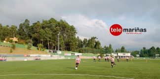Campo de fútbol del Vilariño, en Nigrán