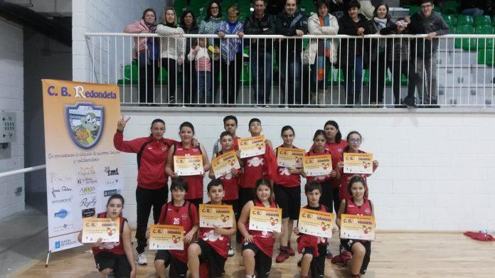 El Club Baloncesto Nigrán en Redondela
