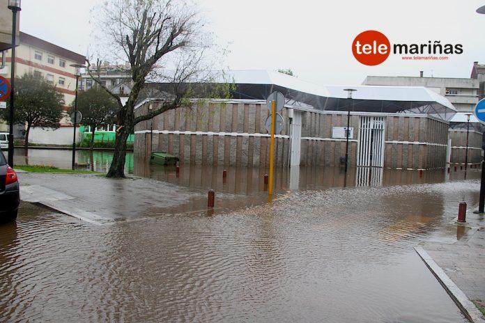 Inundaciones plaza abastos gondomar
