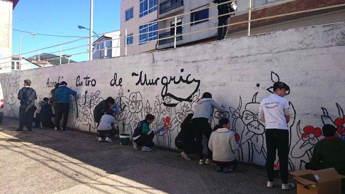 Mural Rosalía de Castro A Guarda