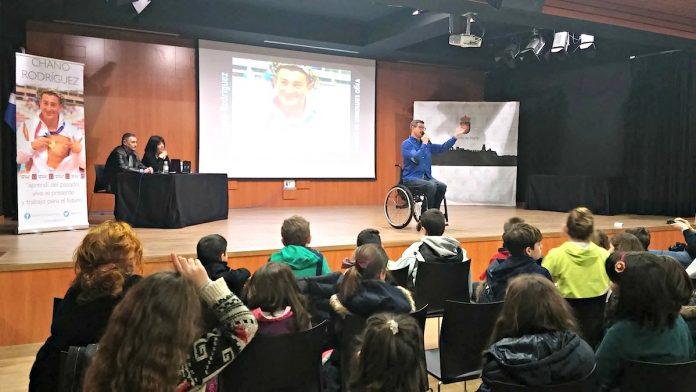 campeón paralímpico Chano Rodríguez Nigrán