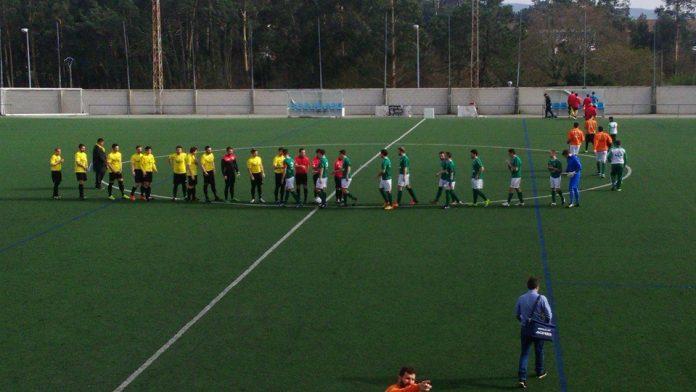 Sporting Guardés - Campo Lameiro en el campo de A Sangriña, en A Guarda.