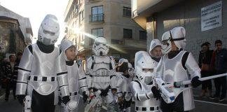 """La comparsa """"Star Wars"""" gana en el Desfile-Concurso de Entroido en A Guarda"""