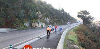La Xunta pide la colaboración de ciclistas para conseguir un diseño del carril bici de la PO-552