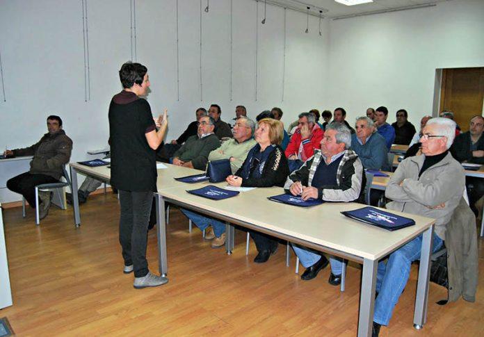 Sesenta personas inician el curso de manipulador de productos fitosanitarios en el Centro Antena de Nigrán