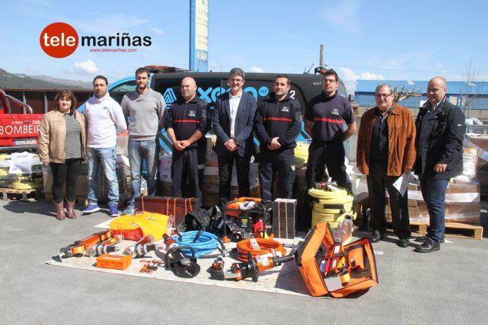 El GES de A Guarda recibe nuevo material de emergencias