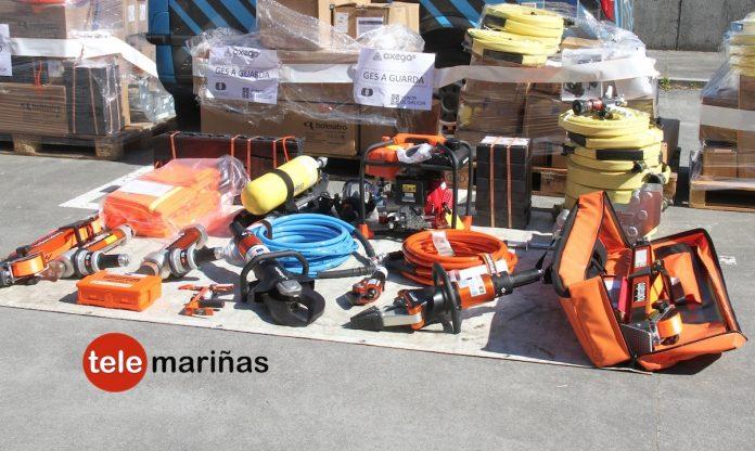 El colectivo de bomberos se opone a las donaciones de equipos de excarcelación a Protección Civil