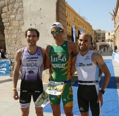 El tudense, Gustavo Rodríguez, campeón de España de duatlón de larga distancia