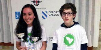 La joven de Sabarís, Mireya Represa, campeona gallega cadete de ajedrez