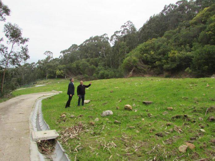 Finalizan las obras de recuperación medioambiental en el Monte Torroso de A Guarda