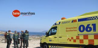 Rescatan a un percebeiro de Nigrán que sufrió ataque cuando faenaba en Cabo Silleiro