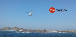 Fallece un percebeiro que faenaba esta mañana en Cabo Silleiro