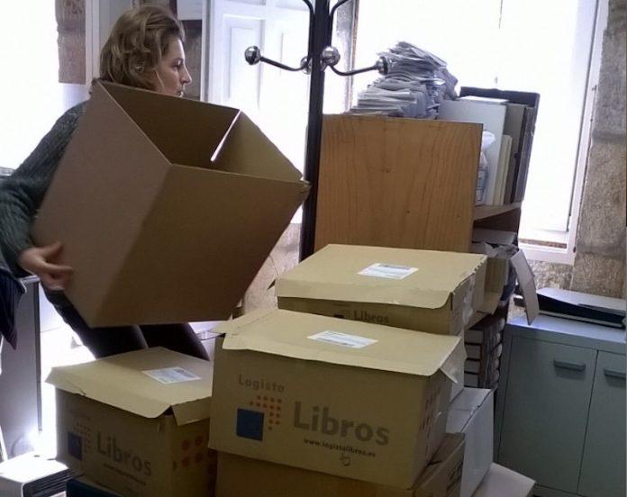 traslado biblioteca municipal de Baiona