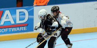 A Guarda Hockey Liña se prepara para el derbi del sábado frente a Vigo Blue Ringed