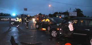 Reclaman una rotonda para evitar accidentes de tráfico en Figueiró