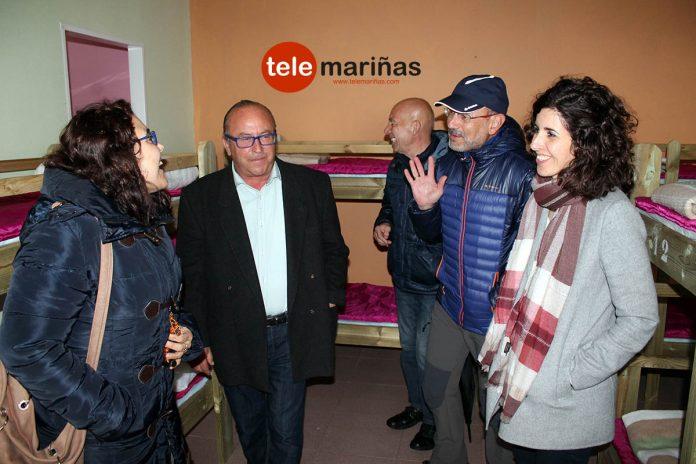 El albergue solidario echa a andar en Mougás