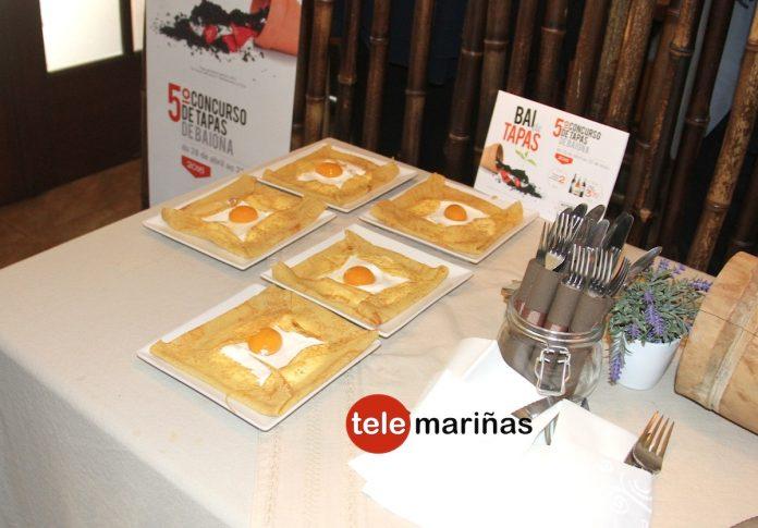 Un total de 28 establecimientos compiten por la mejor tapa en Baiona