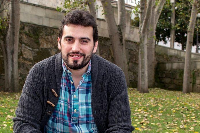 Breogán Rioboo, secretario general de Podemos en Galicia