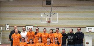 El equipo junior femenino del Airexa logra en Nigrán el título de liga en la última jornada