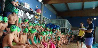 Últimos días para participar en la sexta edición del Campeonato Escolar de Natación de O Val Miñor