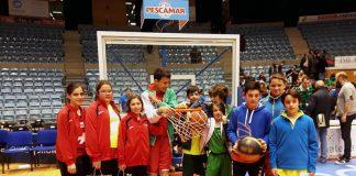 El CB Nigrán apoya al Obradoiro en el partido de la liga ACB