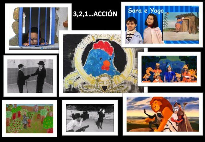 El CEIP Carlos Casares de Nigrán presenta el proyecto audiovisual 3,2,1… Acción