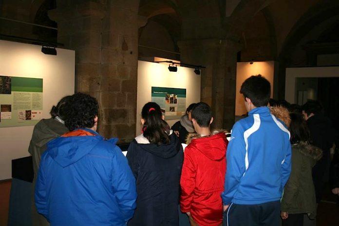 La exposición sobre la villa romana de Currás recibe más de un millar de visitas en Santiago